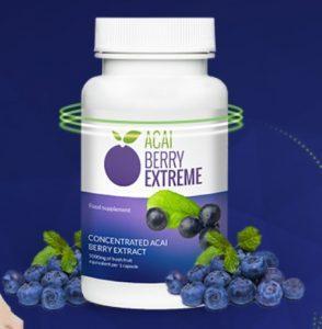 Adelgaza con Acai Berry Extreme hasta 15 kg al mes
