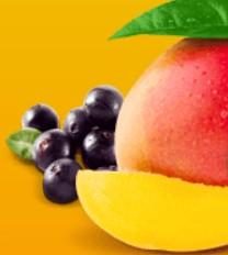 El mango y el extracto de acai