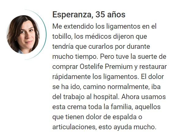 Ostelife opiniones