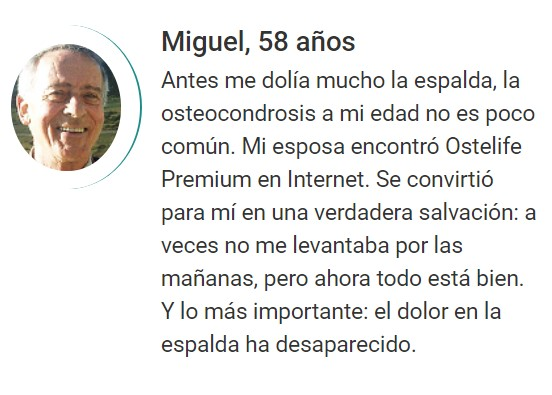 opiniones Ostelife